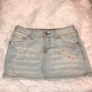Amethyst blue jean skirt Size 1.
